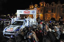 Volkswagen Polo R WRC presentatie in Monte Carlo