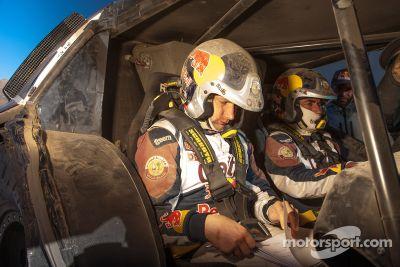 Qatar Red Bull Rally Team, pruebas