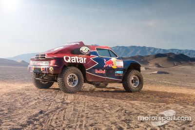 Qatar Red Bull Rally Team test