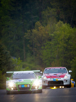 #9 Raeder Motorsport Audi R8 LMS Ultra: Frank Biela, Christian Hohenadel, Luca Ludwig, Thomas Mutsch