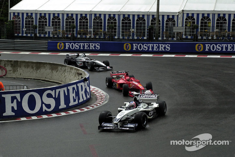 Jenson Button voor Michael Schumacher en David Coulthard (2000)