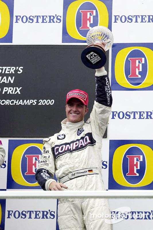 Podium: derde Ralf Schumacher