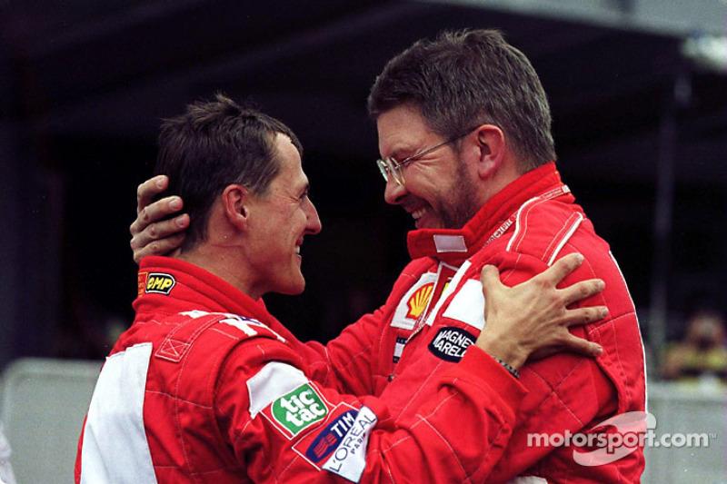 2000: Michael Schumacher (Ferrari F1-2000)