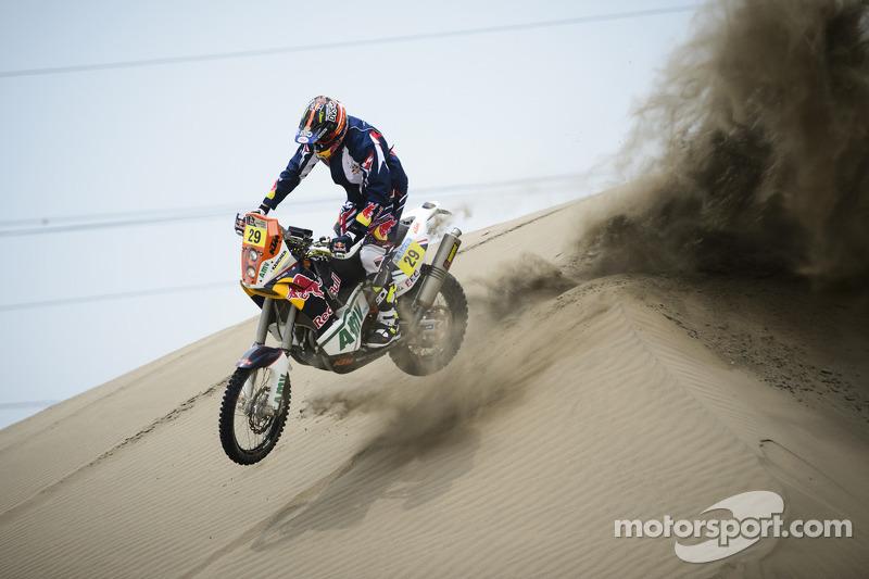 #29 KTM: Kurt Caselli testando próximo a Lima, Peru