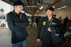 Mike Hedlund and Scott Sharp