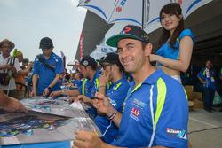 #1 Suzuki Endurance Racing Team SERT: Vincent Philippe, Etienne Masson, Sodo Hamahara
