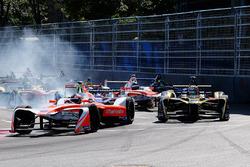 Start: Felix Rosenqvist, Mahindra Racing leads