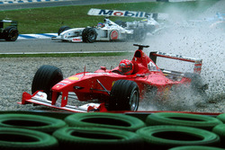 Accident de Michael Schumacher, Ferrari F1 2000