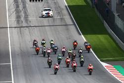Le départ, Marc Marquez, Repsol Honda Team, mène