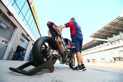 La moto di Davide Giugliano, Honda World Superbike Team