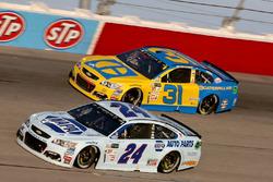 Чейс Эллиотт, Hendrick Motorsports Chevrolet и Райан Ньюман, Richard Childress Racing Chevrolet