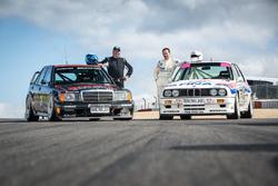 Klaus Ludwig, Mercedes 190 DTM und Johnny Cecotto, BMW M3 DTM