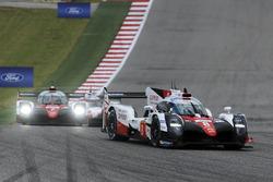 Экипаж №8 команды Toyota Gazoo Racing, Toyota TS050 Hybrid: Энтони Дэвидсон, Себастьен Буэми, Казуки Накаджима