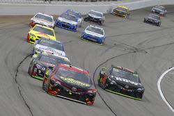 Erik Jones, Furniture Row Racing Toyota, Martin Truex Jr., Furniture Row Racing Toyota, Austin Dillon, Richard Childress Racing Chevrolet