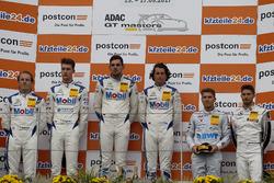 Podium: 1. #21 Mercedes-AMG Team Zakspeed, Mercedes-AMG GT3: Luca Stolz, Luca Ludwig, 2. #20 Mercedes-AMG Team Zakspeed, Mercedes-AMG GT3: Yelmer Buurman, Nicolai Sylvest, 3. #26 BWT Mücke Motorsport, Mercedes-AMG GT3: Sebastian Asch, Edoardo Mortara