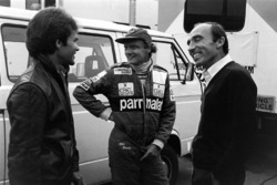 Peter Windsor, Niki Lauda, McLaren en Frank Williams, Williams