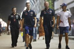Daniil Kvyat, Red Bull Racing y Pierre Gasly
