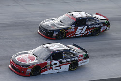 Austin Dillon, Richard Childress Racing Chevrolet Jeremy Clements, Jeremy Clements Racing Chevrolet