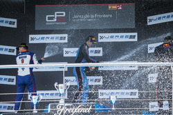 Подиум: Алессио Лоранди, Jenzer Motorsport, Дориан Бокколаччи, Trident, и Нико Кари, Arden International