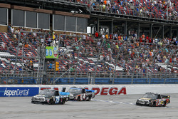 Parker Kligerman, Henderson Motorsports Toyota takes the checkered flag