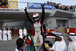 Khaled Al Qubaisi celebrates the win