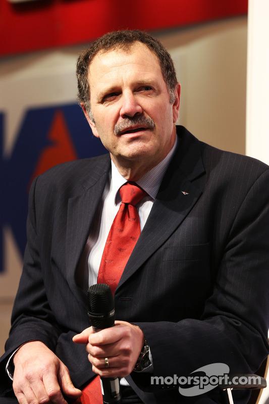 Brian Gush, diretor de automobilismo da Bentley
