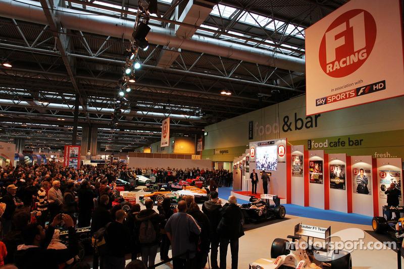 Пол ди Реста. Международная автоспортивная выставка, Бирмингем, четверг.