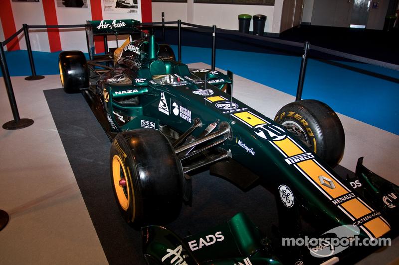 Caterham 2012 F1 showauto