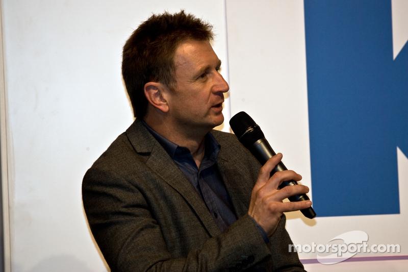 Аллан МакНиш. Международная автоспортивная выставка, Бирмингем, воскресенье.