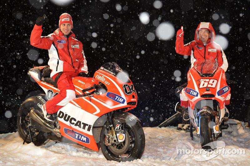 Ducati Desmosedici 2013 - Andrea Dovizioso ve Nicky Hayden