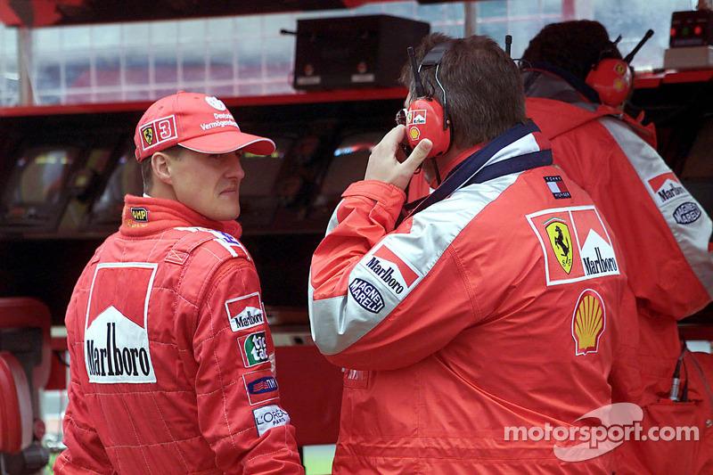 Михаэль Шумахер. ГП Европы, Пятничная тренировка.
