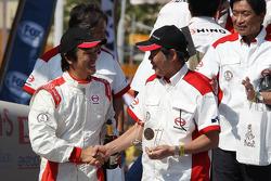#508 Hino: Teruhito Sugawara, Hiroyuki Sugiura