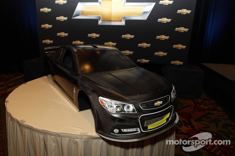 Chevrolet Presentatie, wind tunnel model
