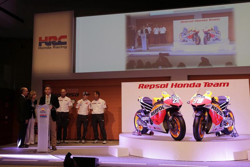 Презентация Repsol Honda 2013, презентация.