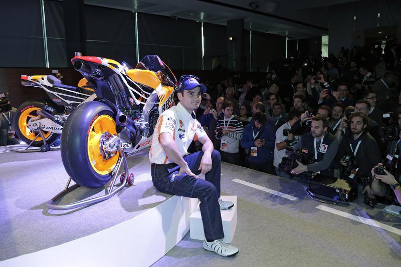 Дани Педроса. Презентация Repsol Honda 2013, презентация.
