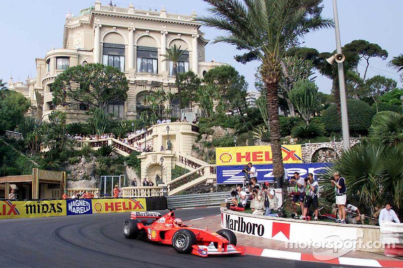 Михаэль Шумахер. ГП Монако, Субботняя квалификация.
