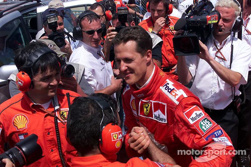 Михаэль Шумахер. ГП Канады, Субботняя квалификация.