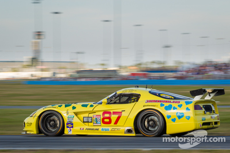 #87 Vehicle Technologies Dodge Viper: Tony Ave, Jan Heylen, Doug Peterson