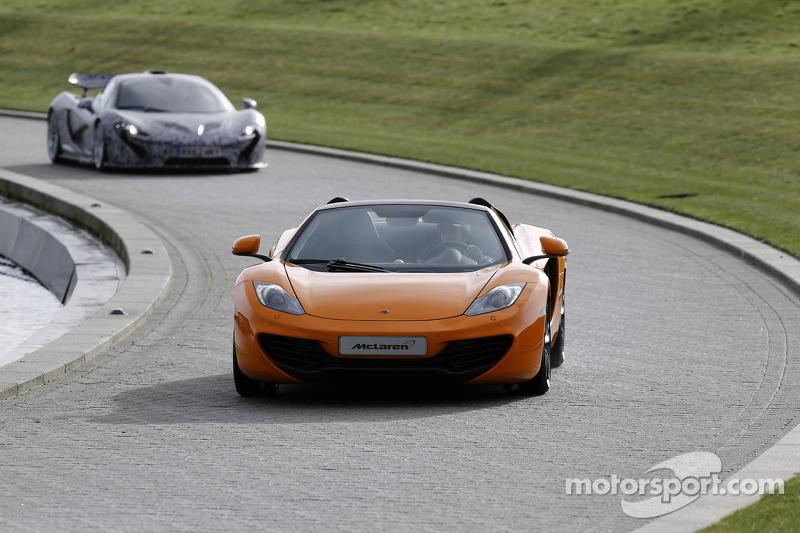 Серхио Перес. Презентация McLaren Mercedes MP4-28, Презентация.