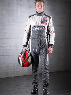 Нико Хюлькенберг. Презентация Sauber F1 Team C32, Студийная фотосессия.