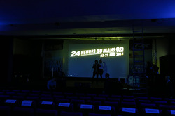 Press conference set up