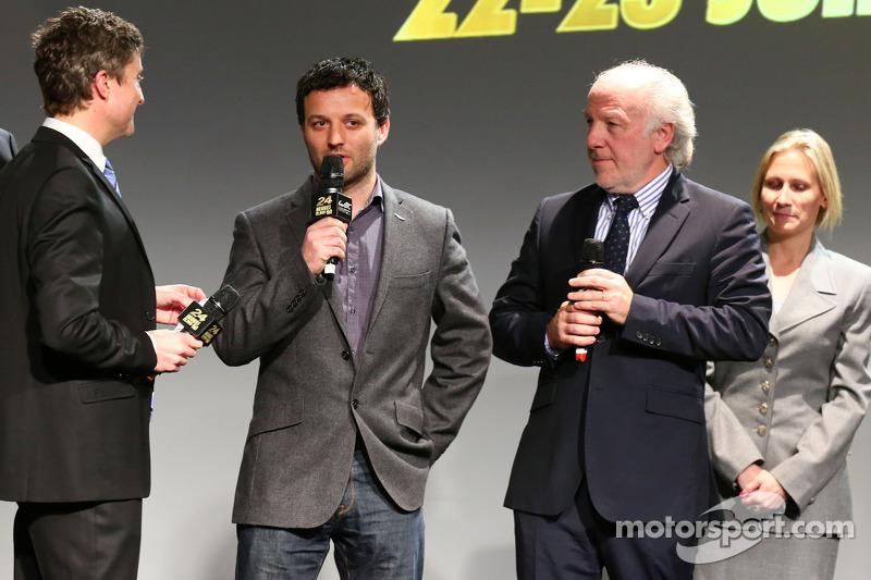 Darren Turner en David Richards, Aston Martin Racing