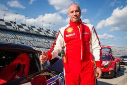 Pole winner #85 Auto Gallery Ferrari 458: John Farano