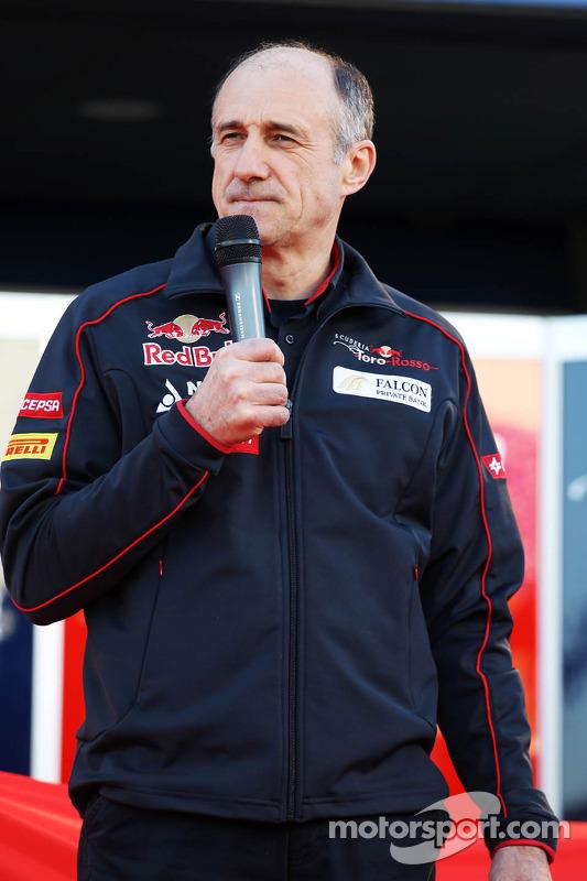 Franz Tost, Teamchef