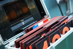 Pit board box for Caterham F1 Team