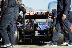 Daniel Ricciardo, Scuderia Toro Rosso STR8, difusor traseiro