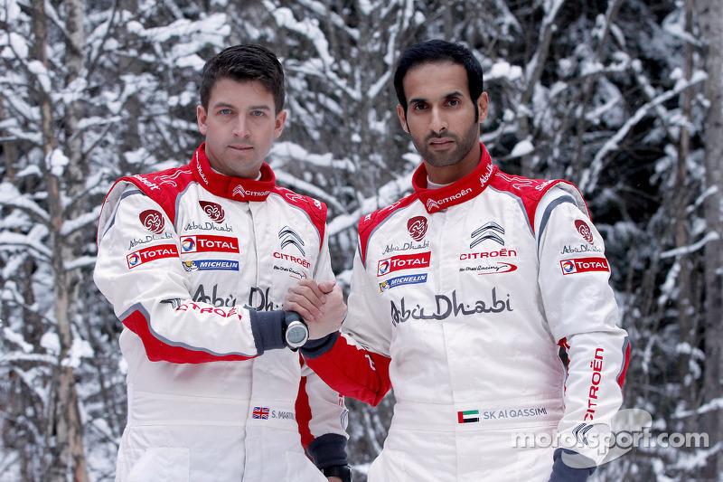 Скотт Мартин и Халид Аль-Кассими. Ралли Швеция, тестовый СУ.