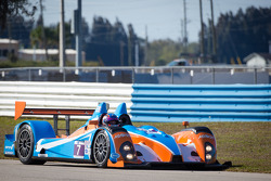 Spin for #7 BAR 1 Motorsports Oreca FLM09 Chevrolet: Rusty Mitchell, Chapman Ducote, Tomy Drissi