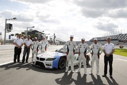 Gordon McDonnel, BMW Motorsport North America, Bobby Rahal, Team Principal BMW Team RLL, Bill Auberlen, Maxime Martin, John Edwards, Dirk Müller, Joey Hand, Jens Marquardt, Head of BMW Motorsport