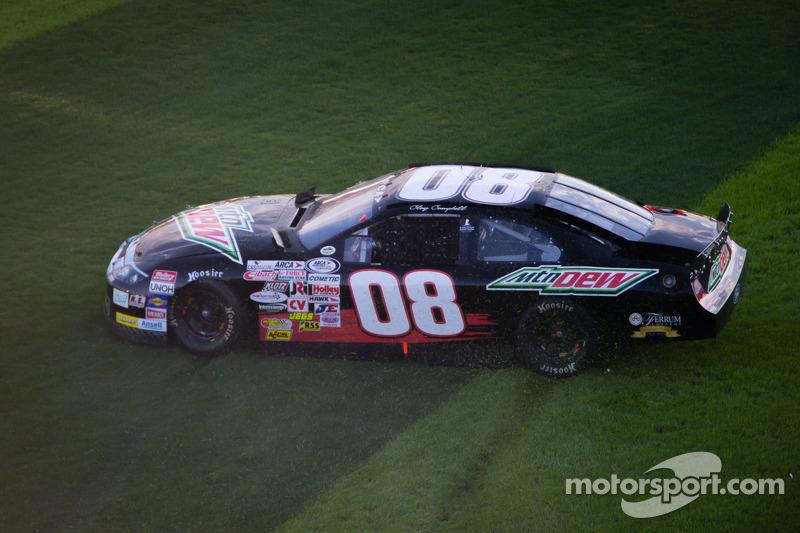 Clay Campbell crash